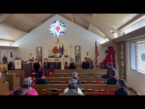 Sanctus in Latin - Learning Latin at Canterbury Christian School and Saint Paul's Anglican Church