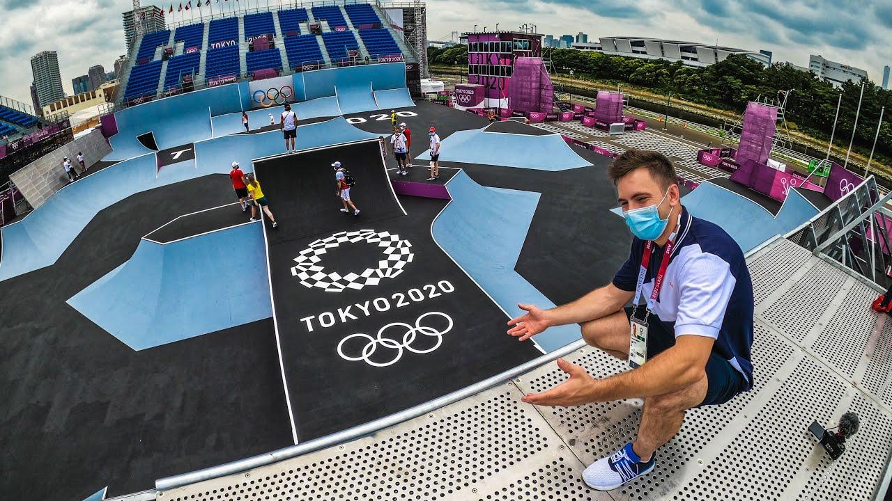 Обзор Олимпийского СкейтПарка. Ну такое.