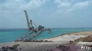 Aruba Container Crane Demolition on 5/21/2017