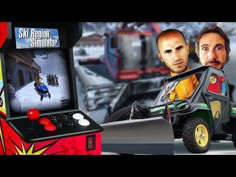 Let's Play Ski Region Simulator - Gameplay Giocato ITA - con Pierpa e Ale