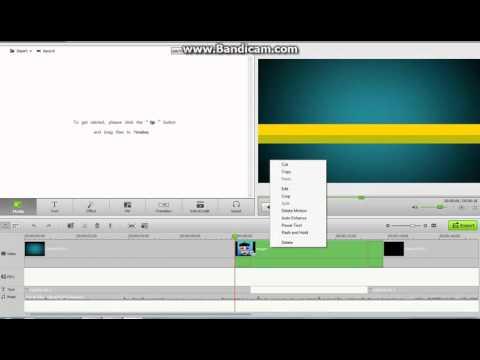 Editovanje u iSkysoft Video Editor