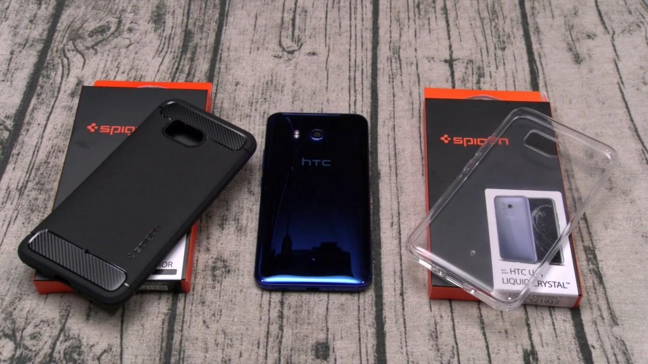 hot sale online 165fd 37001 HTC U11 Spigen Case Lineup