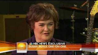 susan boyle on today show full interview