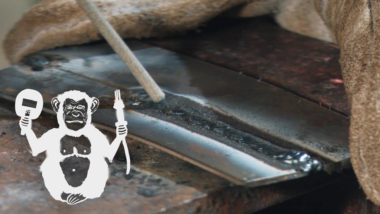Сварка тонкого металла электродом   Arc welding of thin metal - Территория сварки