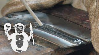 Территория сварки - сварка тонкого металла электродом | Arc welding of thin metal(Сваривать тонкий метал это кропотливая работа для сварщика. В этом видео показываются простые приемы сварк..., 2016-02-17T13:47:35.000Z)