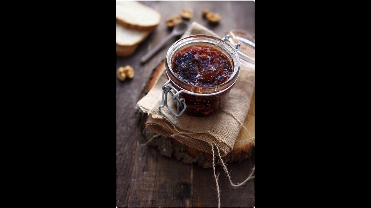 Confiture de figues au vorwerk pour foie gras youtube - Cuisiner des figues fraiches ...