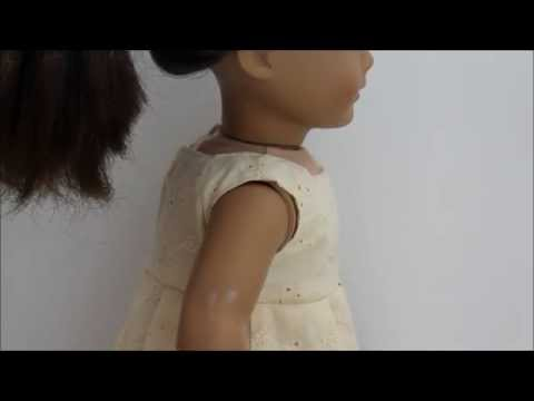 How To Remove Marks Off Your American Girl Doll!