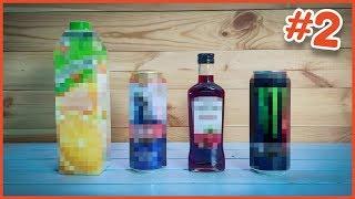 Jak wyglądają napoje BEZ WODY #2 - nowe smaki i mega zaskoczenie