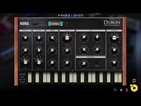 画像2: 04 06 ベースの音を選ぶ バレッドプレス KORG Gadget for Nintendo Switch講座 www.youtube.com