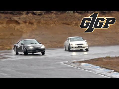 Competing in G1GP with my JZX100 Cresta