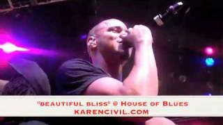 Melanie Fiona - J Cole - Wale - Beautiful Bliss - House of Blues
