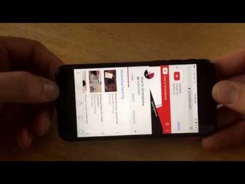 iPhone 7 - screen rotation tutorial