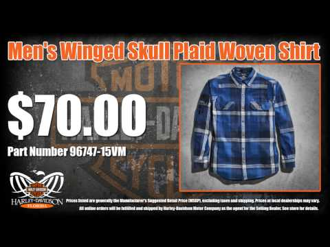 Harley Davidson Mens & Womens Clothing For Sale  - Fall 2014