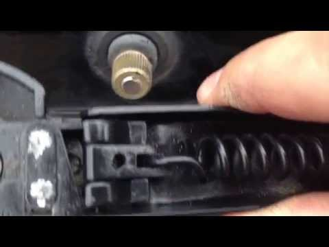Dodge Grand Caravan Rear Wiper Arm Removal and Repair