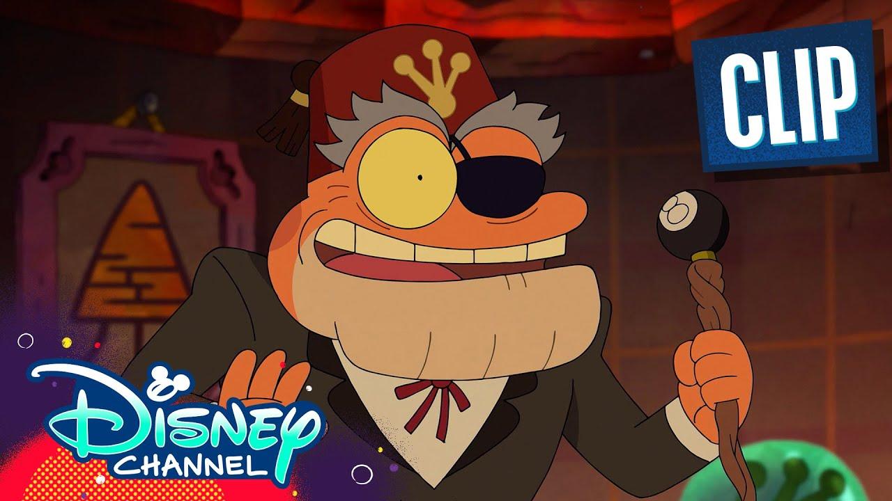 Gravity Falls Frogs?! | Sneak Peek | Amphibia | Disney Channel