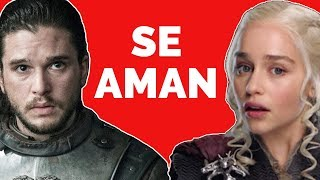 Por qué Daenerys se ENAMORA de Jon Snow - Juego de Tronos