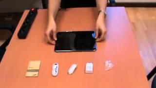 Úvodní lekce  jak nabít váš tablet