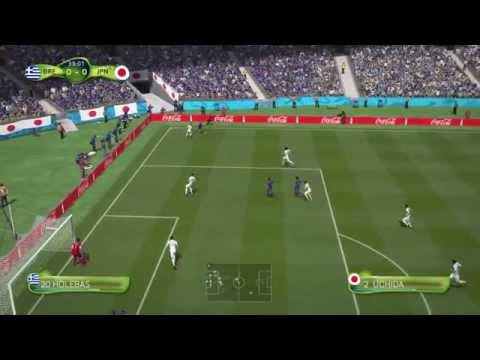 【PS4】 FIFA14 CPU観戦 日本代表対ギリシャ代表 【FIFA】