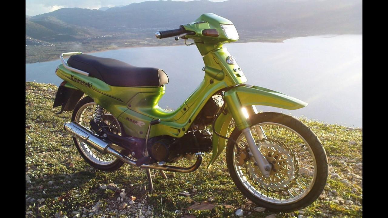 Top Modifikasi Motor Kawasaki Kaze R Terbaru Modifikasi Motor