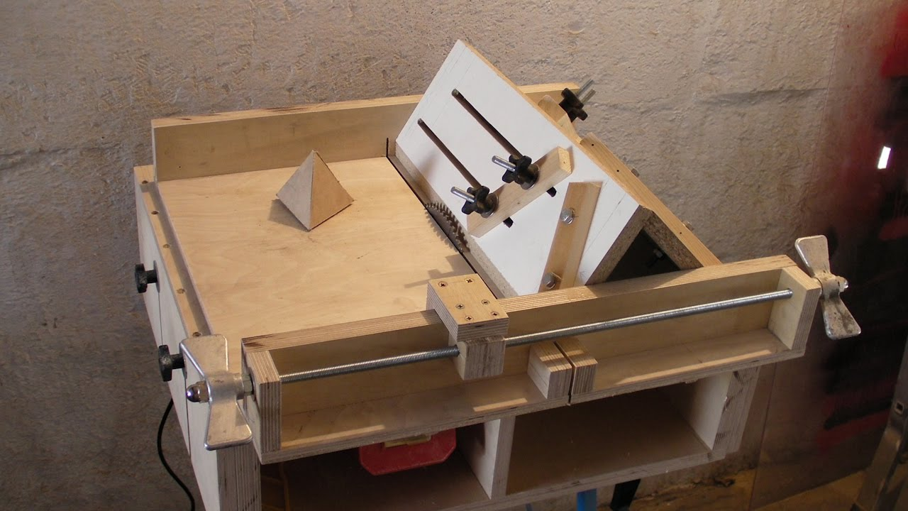 Homemade Table Saw Sledge Part 4 Jig To Build