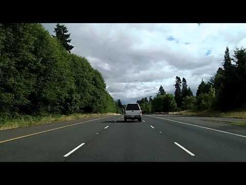 Interstate 5 Dashcam in Washington: US 12 to Longview
