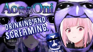 【AO ONI】Drinking and Screaming with an Old Classic Friend... #Holomyth #HololiveEnglish