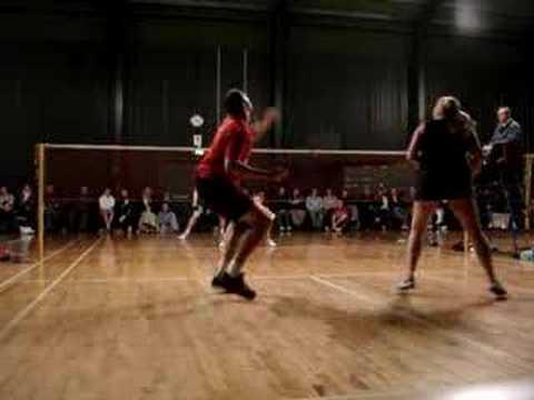 Badminton - Guernsey Satellite 2008 Mixed Final
