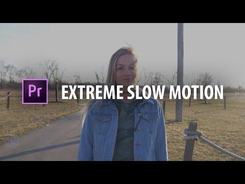 Premiere Pro: EXTREME Slow Motion