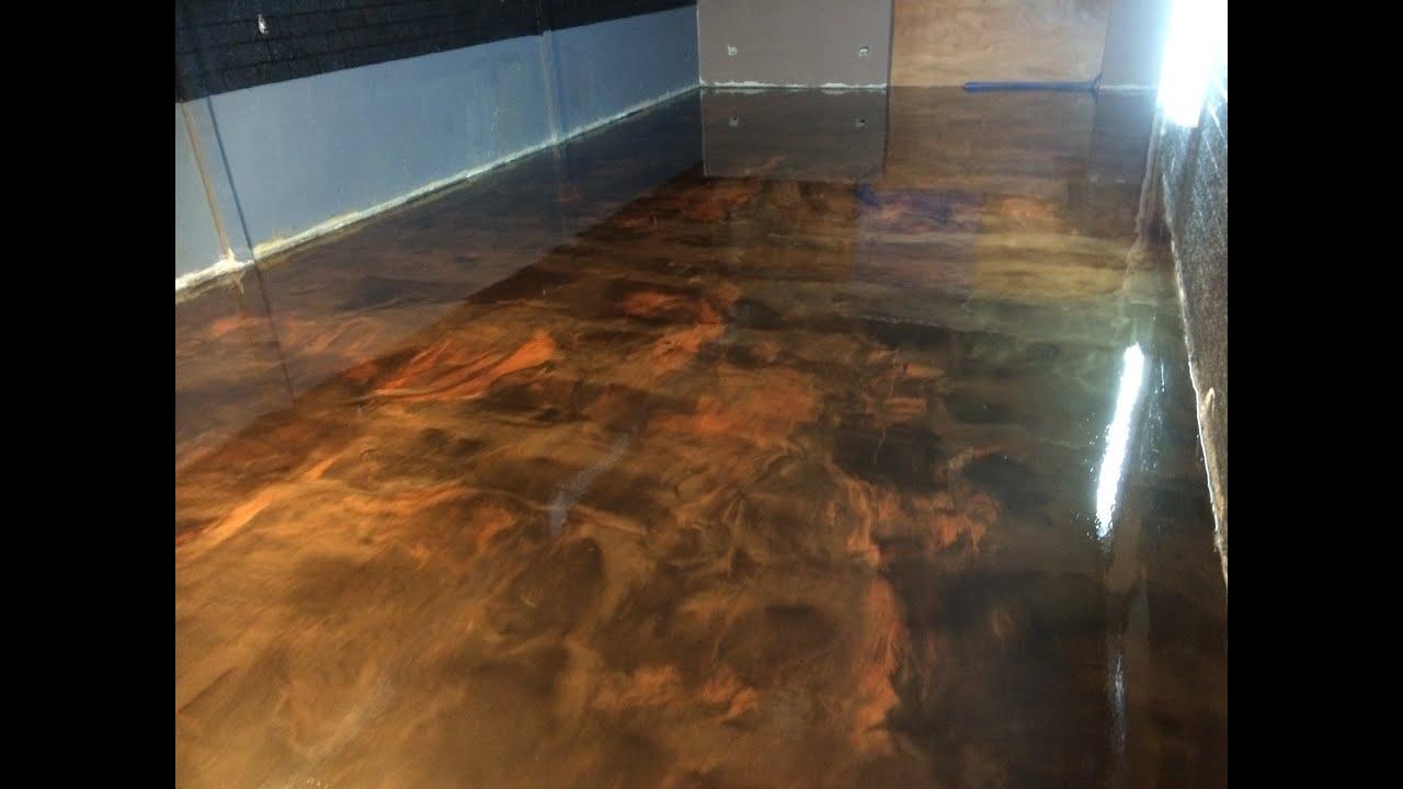 Elite crete systems panam piso ep xico youtube - Pintura de resina ...