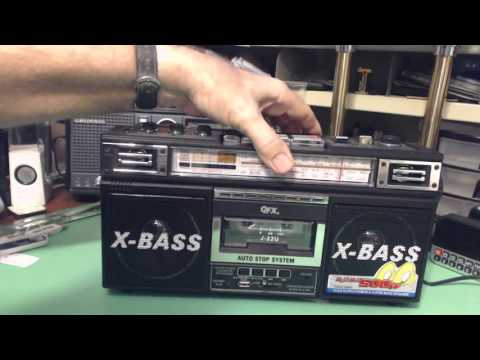 TRRS #0698 - QFX Shortwave Boombox Radio