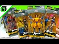 Unboxing X-Men Apocalypse Build a Figure Marvel Legends Complete Set with Wolverine