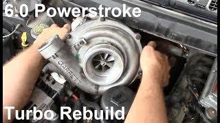 6.0 Powerstroke Garrett Turbo Rebuild