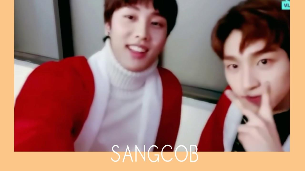 The Boyz Sangyeon X Jacob Sangcob Oh My Angel Jeong Sewoon Youtube