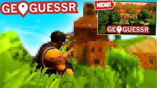 Fortnite GEOGUESSR you WONT KNOW these places! (Fortnite Battle Royale)