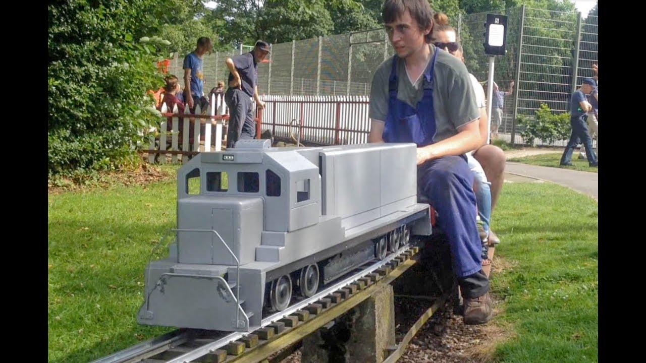 Locomotives For Sale >> 5 inch Gauge American SD70ACe Diesel Locomotive under test at Sale Model Engineers - YouTube