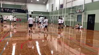 Caulfield Grammar School WH 4ths Volleyball vs Carey Grammar School 16/2/19 SET #3