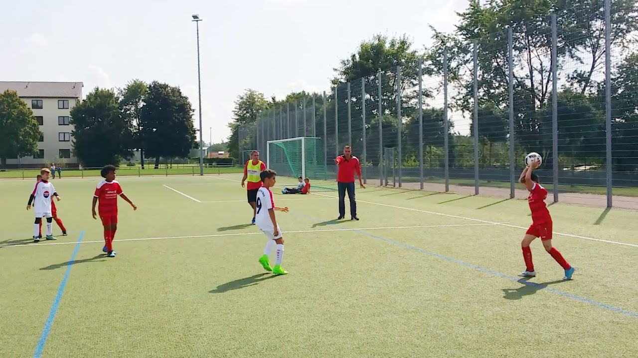 Sg Rot Weiss Frankfurt U10 Vs Tsg Frankfurter Berg U11 6 2 Juelz Romeo Glenn Highlights Goals Youtube