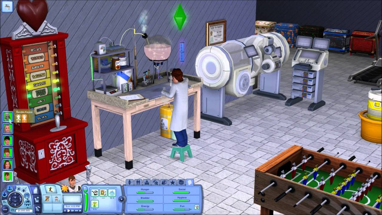 Sims 3 Gameplay with No Lag and No Nraas Story Progression