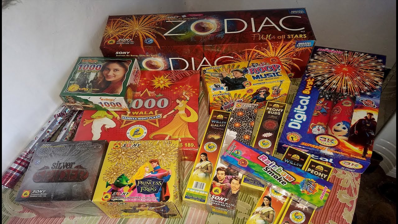 Fireworks Stash for Marriage / Wedding Ceremony - Budget of Rs.5000 ...