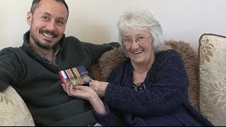 Long Lost WW1 Medals Found