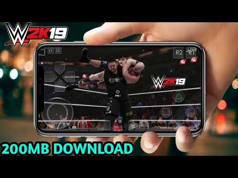 [300MB]WWE 2K19 REAL GAME DOWNLOAD FOR ANDROID 2019 -- PPSPP GAME DOWNLOAD - 동영상