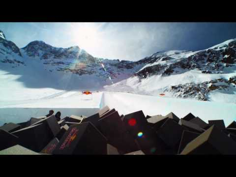 Shaun White's onmountain foam pit  Red Bull Project X