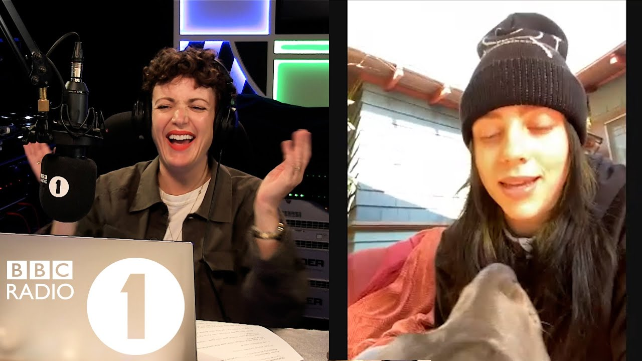 Billie Eilish talks about voting, quarantine, new music & her dog Shark!