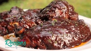 oven baked barbecue turkey wings i heart recipes