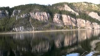Russia  - Lena river views crusie / Великолепные виды реки Лена