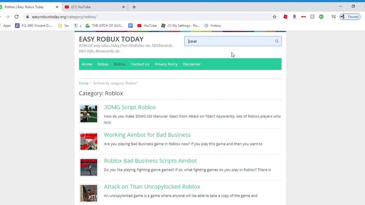 Esay Robux Todaycom