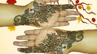 Simple easy mehndi design।বাংলা মেহেদী ডিজাইন। সহজ মেহেদী ডিজাইন।