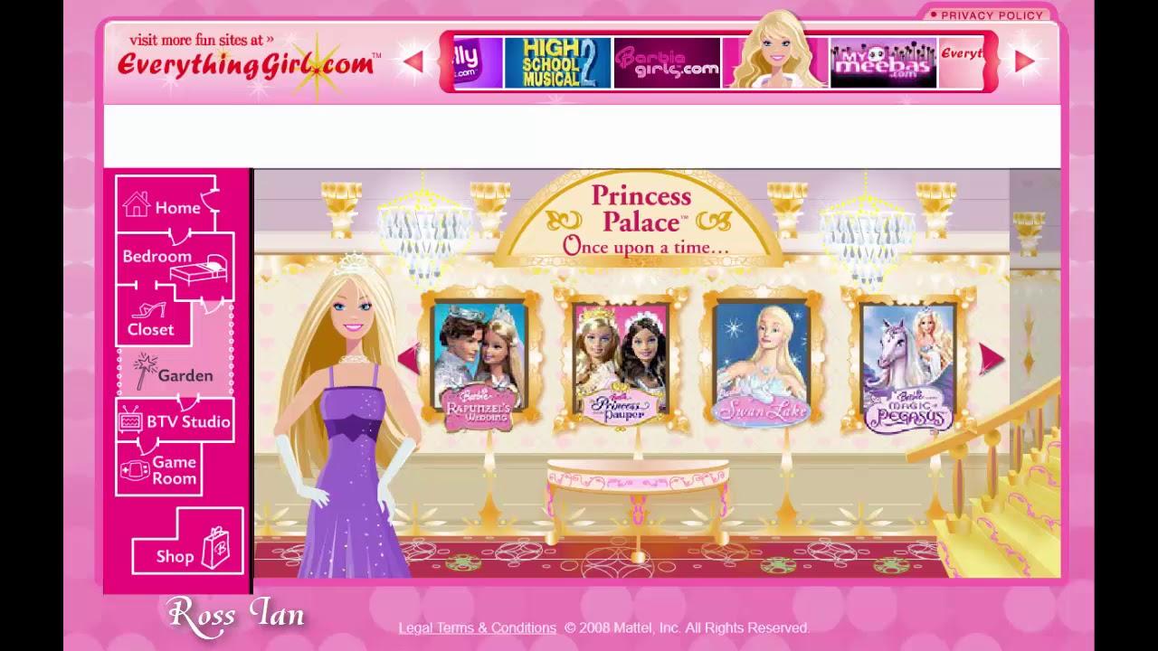 Barbie Site 2008 16 Dec Youtube