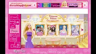 Barbie.com Site 2008 16 Dec