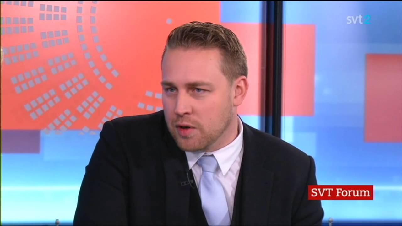 Mattias Karlsson (SD) intervjuas av Mats Knutson - Rakt på ...